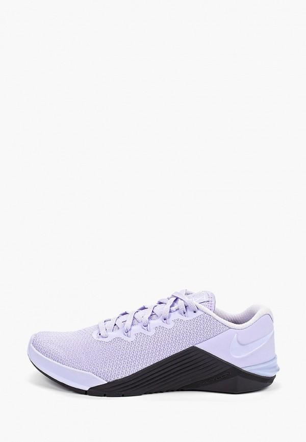 Фото - женские кроссовки Nike фиолетового цвета