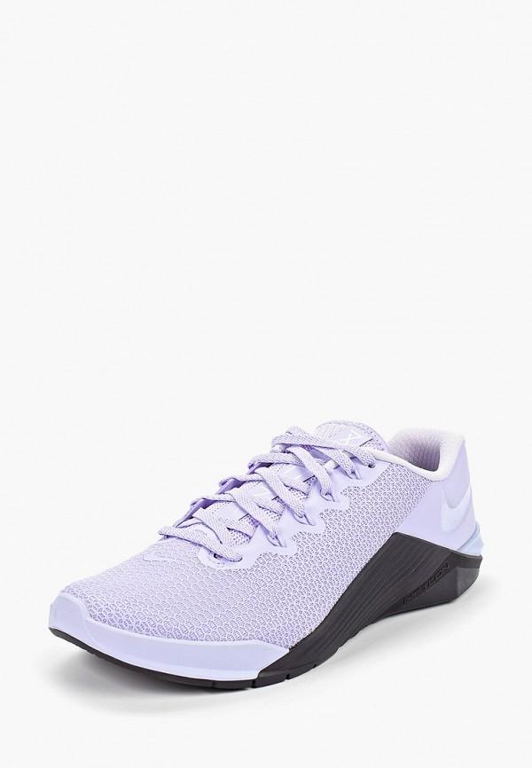 Фото 2 - женские кроссовки Nike фиолетового цвета