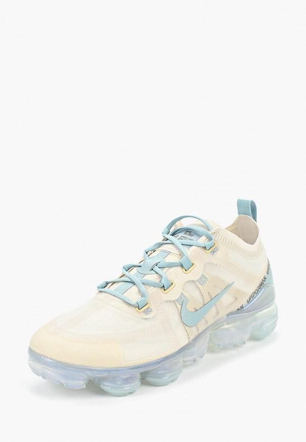 Фото 2 - женские кроссовки Nike бежевого цвета