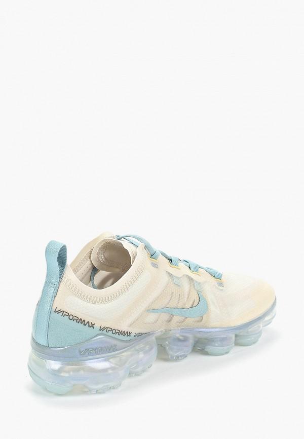 Фото 3 - женские кроссовки Nike бежевого цвета