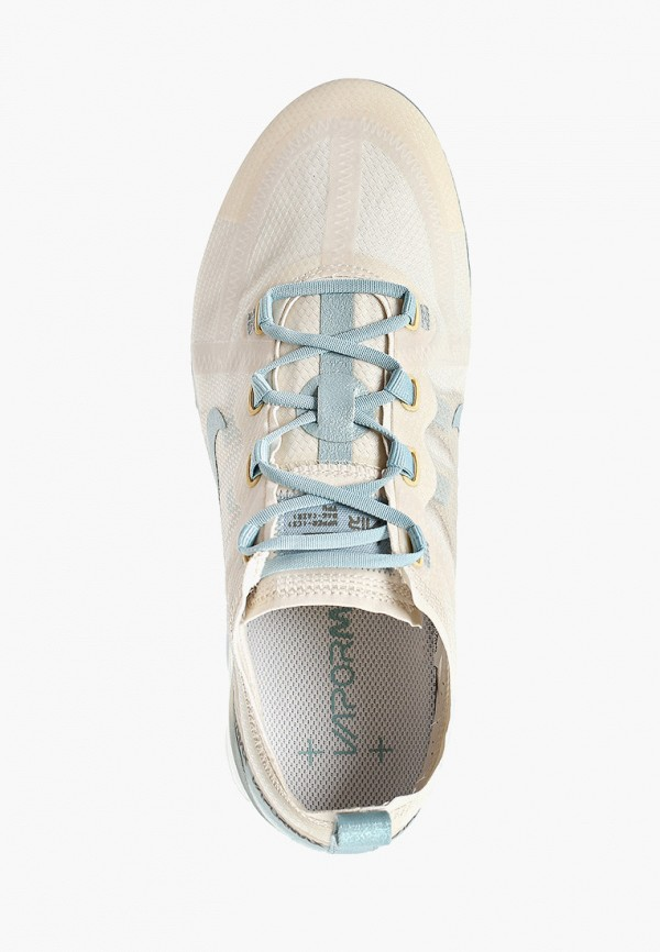 Фото 4 - женские кроссовки Nike бежевого цвета