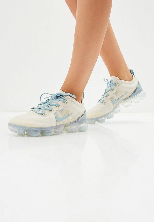 Фото 6 - женские кроссовки Nike бежевого цвета