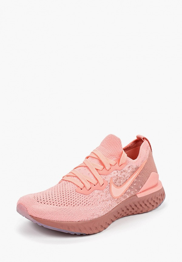 Фото 2 - женские кроссовки Nike розового цвета