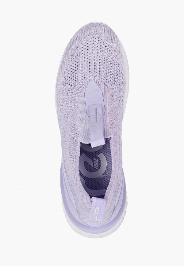 Фото 4 - женские кроссовки Nike фиолетового цвета