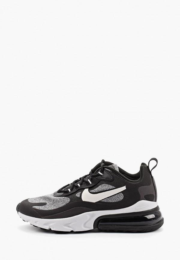Фото - женские кроссовки Nike черного цвета