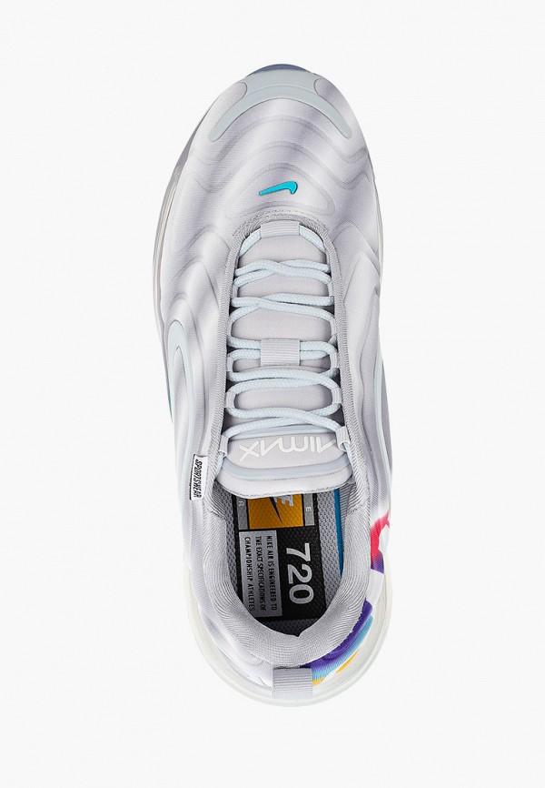 Фото 4 - женские кроссовки Nike серого цвета