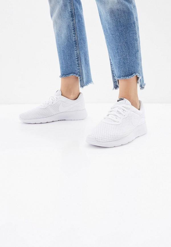 Фото 11 - женские кроссовки Nike белого цвета