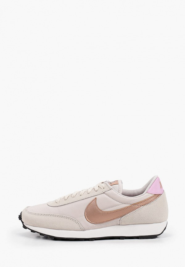 женские низкие кроссовки nike, бежевые