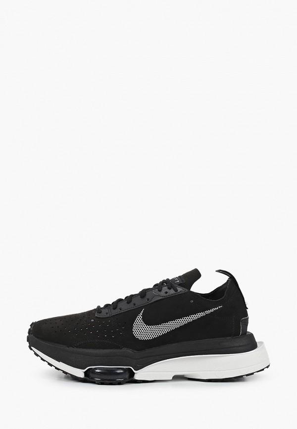 женские низкие кроссовки nike, черные
