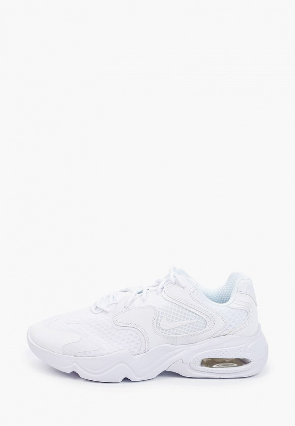 женские низкие кроссовки nike, белые