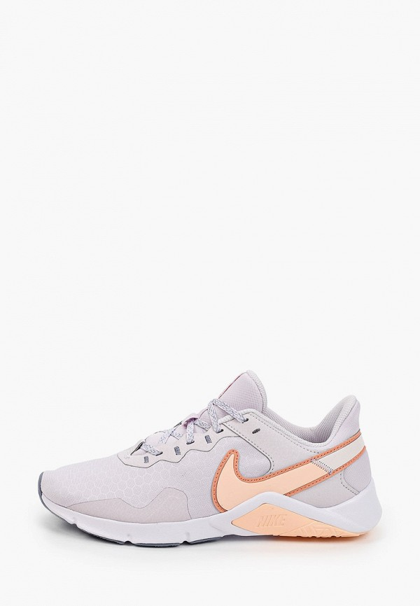 женские низкие кроссовки nike, фиолетовые