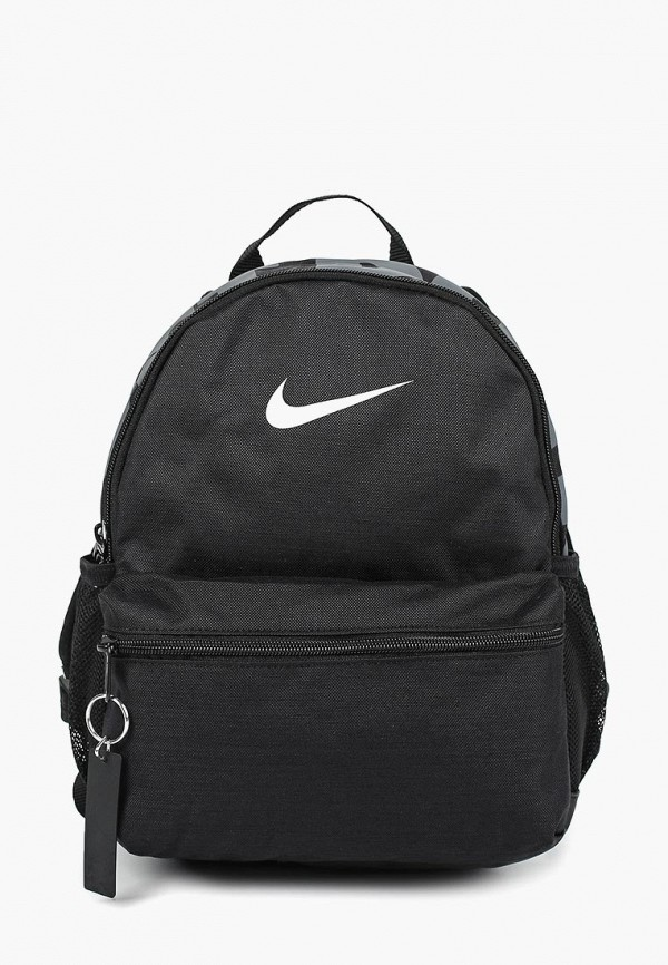 Купить Рюкзак Nike, Y NK BRSLA JDI MINI BKPK, ni464bkdsii5, черный, Весна-лето 2019