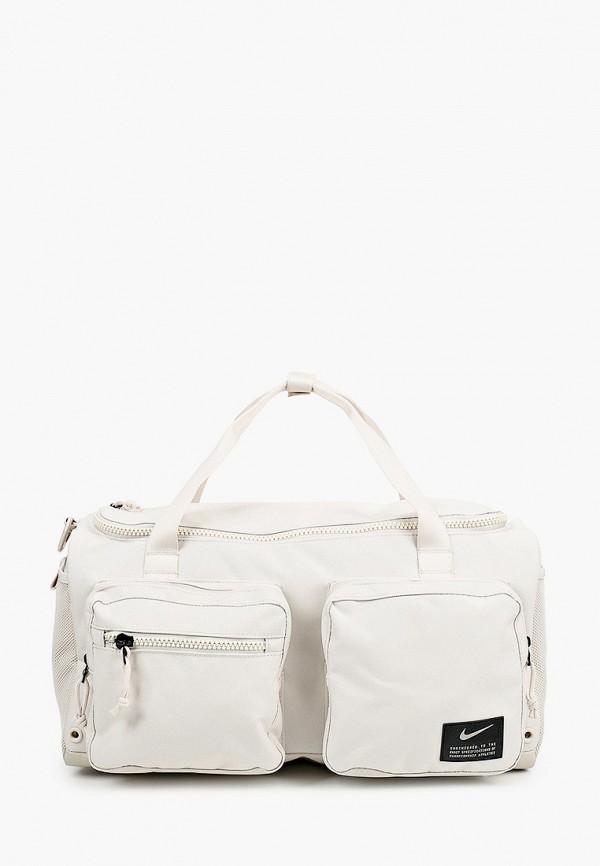 мужская сумка nike, бежевая