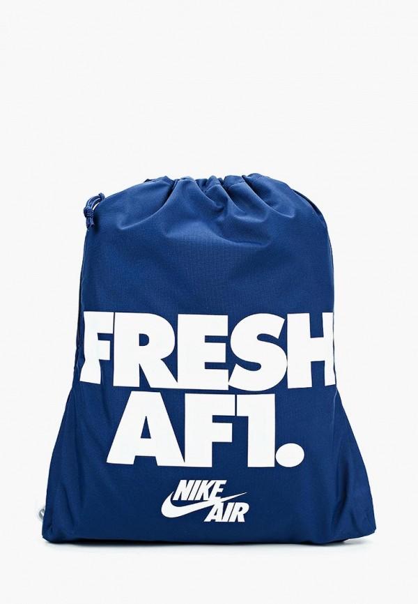 Купить Мешок Nike, NK HERITAGE GMSK 1 - GFX, NI464BUAAAL5, синий, Весна-лето 2018