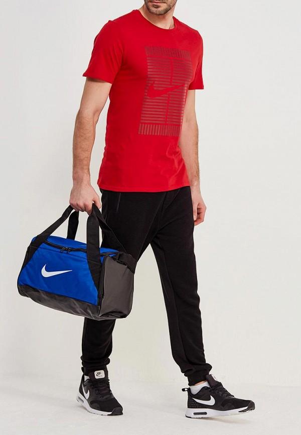 Фото 5 - Сумку спортивная Nike синего цвета