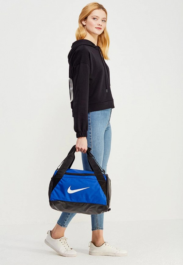 Фото 4 - Сумку спортивная Nike синего цвета