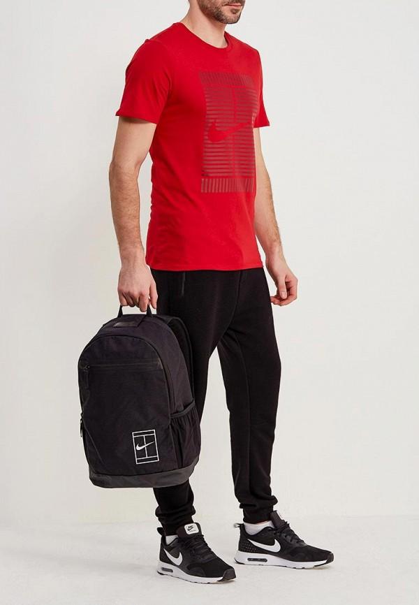 Фото 5 - мужской рюкзак Nike черного цвета