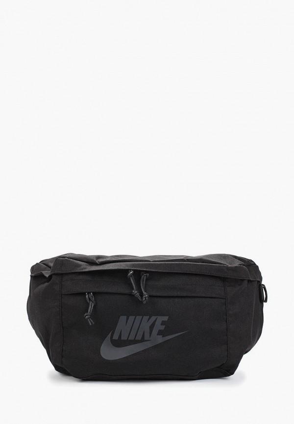Купить Сумку поясная Nike черного цвета