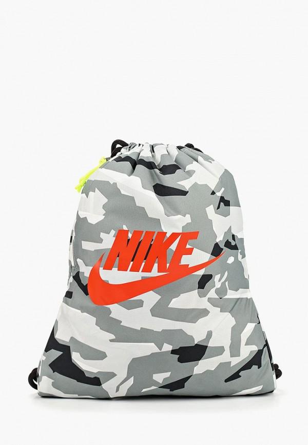 Мешок Nike Nike NI464BUDMYW3 рюкзак мешок nike fb gymsack 3 0 ba5094 435