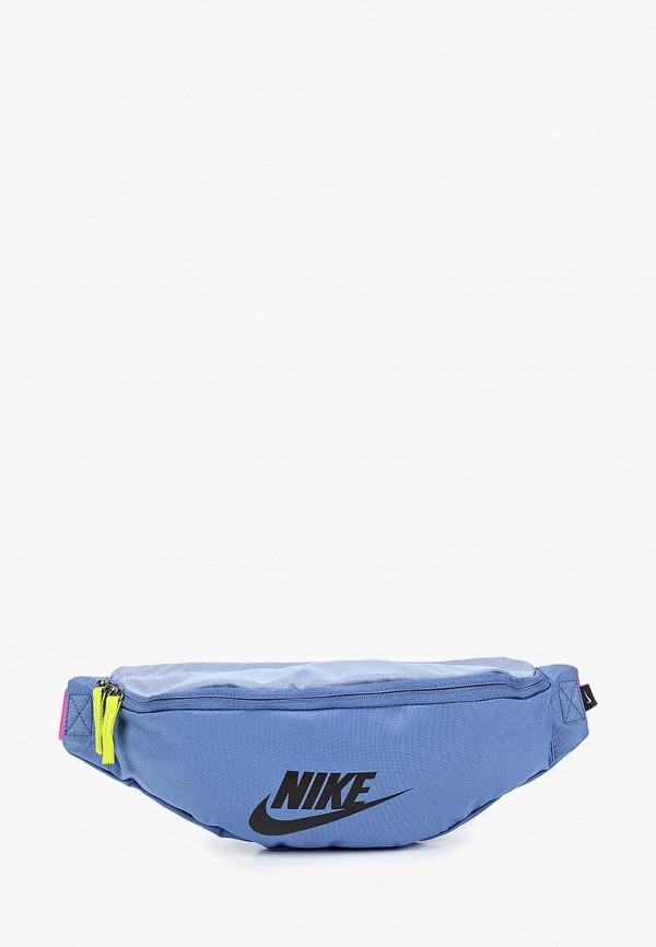 женская сумка nike, синяя