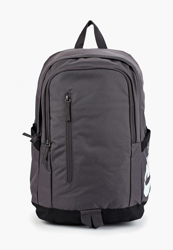 женский рюкзак nike, серый