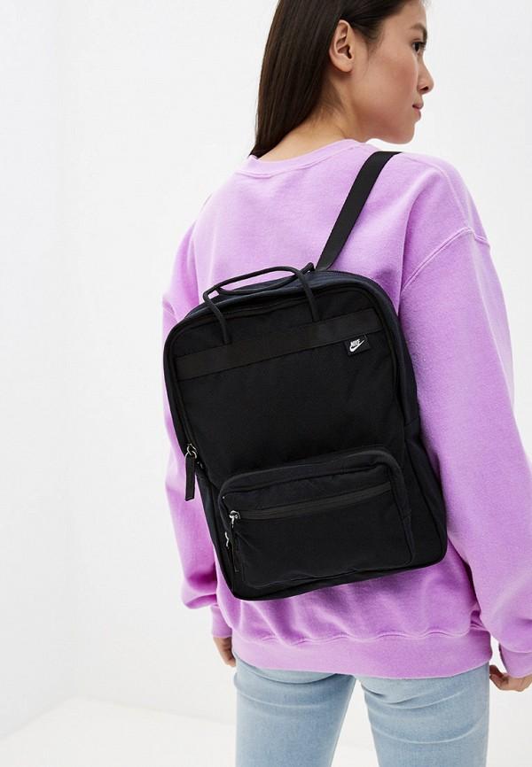 Фото 4 - мужской рюкзак Nike черного цвета