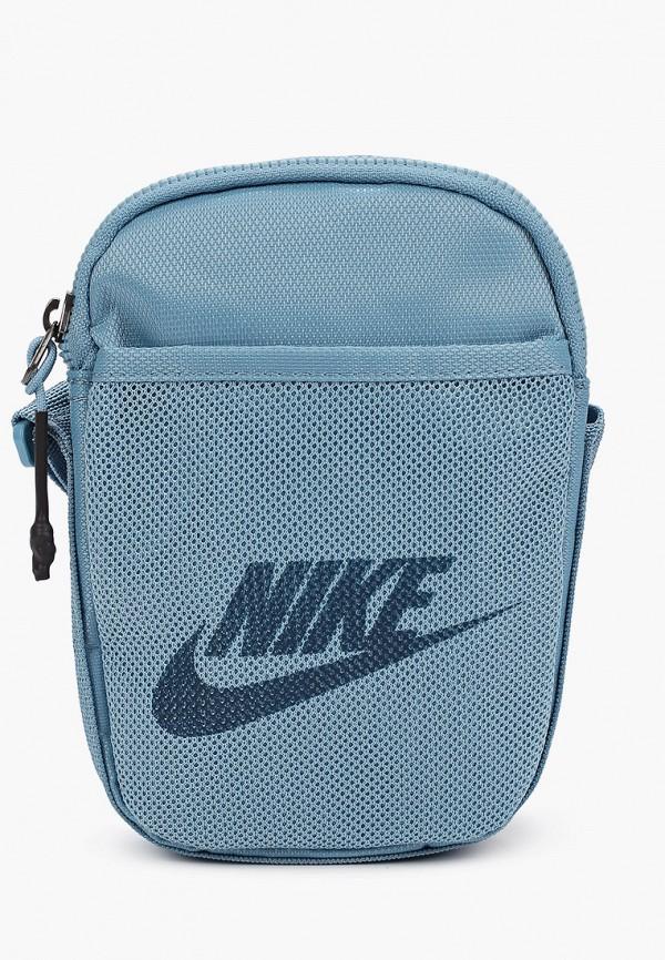 женская сумка nike, голубая