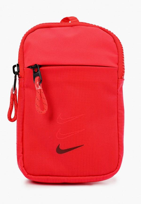 женская сумка nike, красная