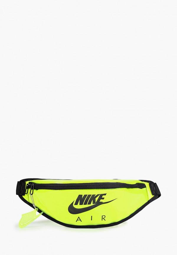 женская сумка nike, желтая