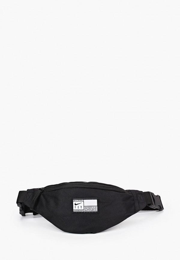 женская поясные сумка nike, черная