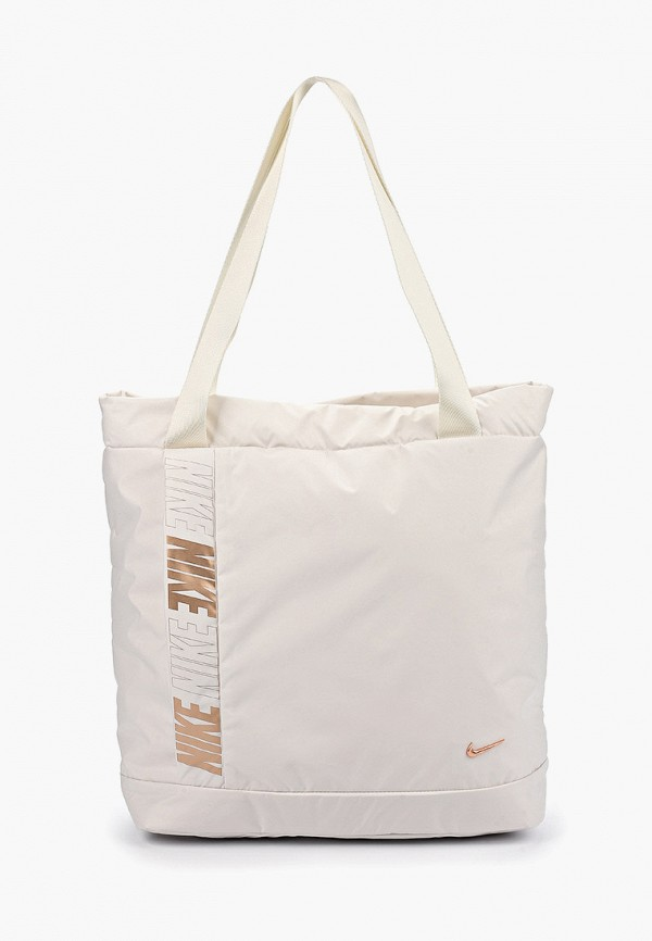 женская спортивные сумка nike, белая
