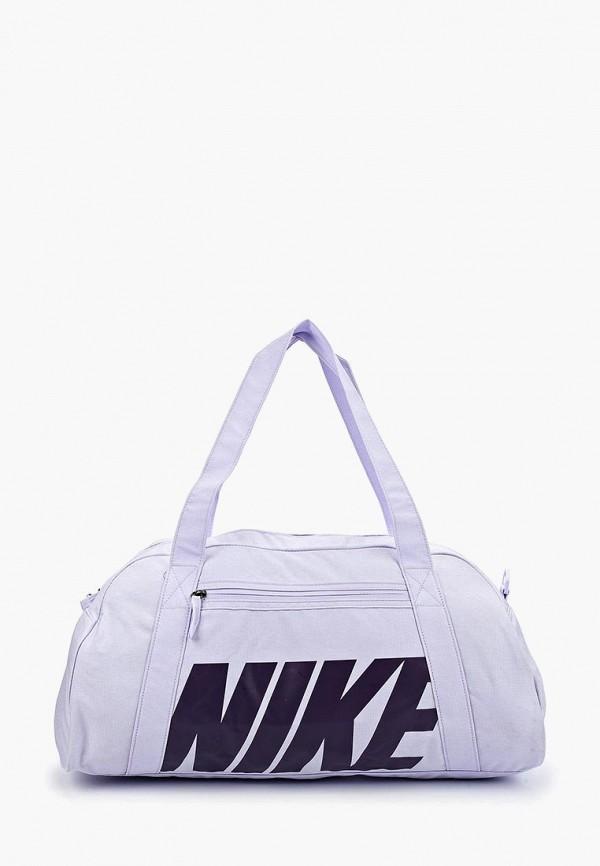 женская сумка nike, фиолетовая