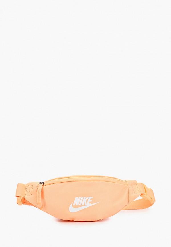 женская сумка nike, оранжевая