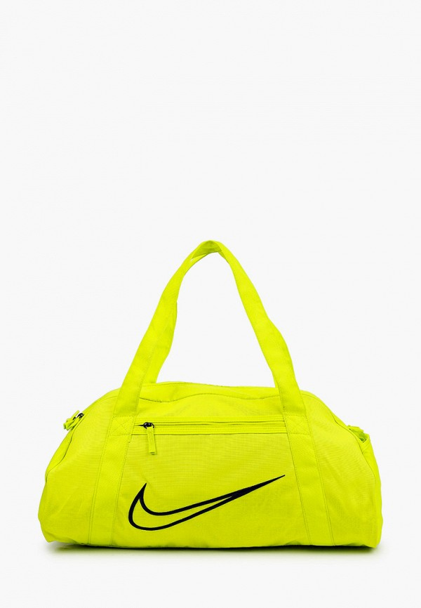 женская спортивные сумка nike, зеленая