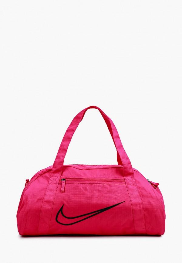 женская спортивные сумка nike, розовая