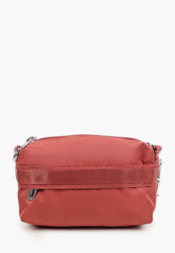 женская сумка через плечо nike, бордовая
