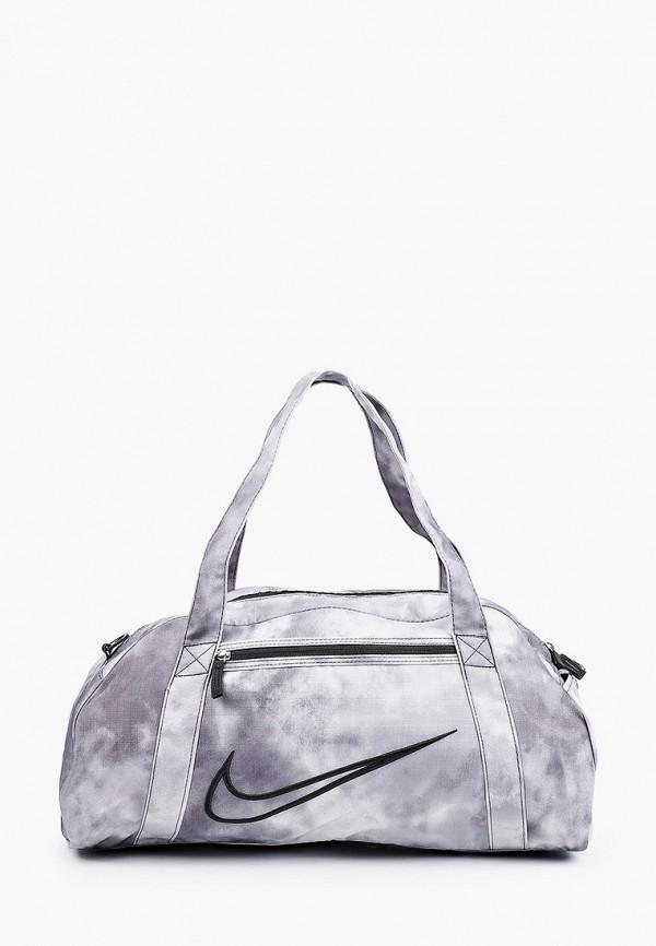 женская спортивные сумка nike, серая