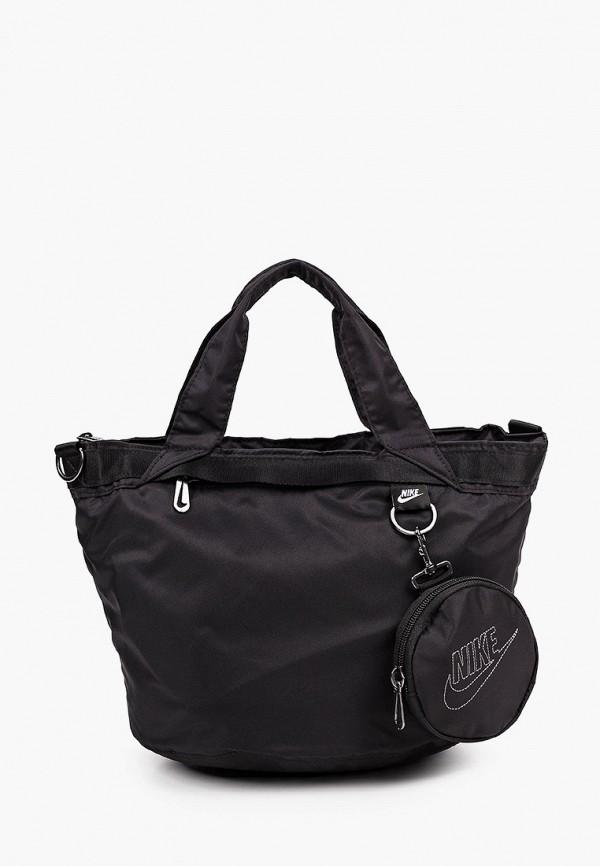 женский спортивные кошелёк nike, черный
