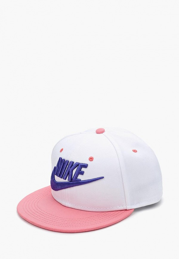 Купить Бейсболка Nike, Nike Futura True Kids' Adjustable Hat, ni464cgbdpm3, белый, Осень-зима 2018/2019