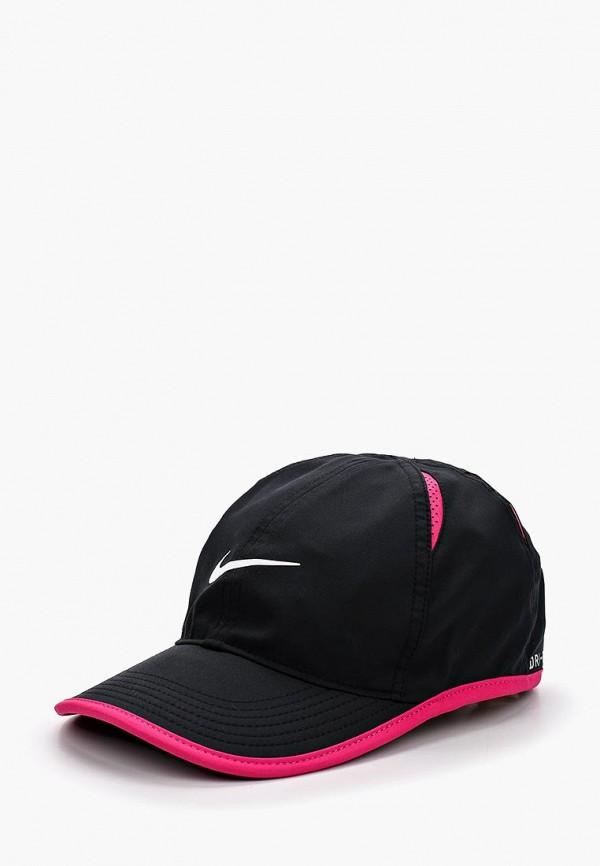 Купить Бейсболка Nike, Kids' Nike AeroBill Featherlight Cap, ni464cgbdpm4, черный, Осень-зима 2018/2019