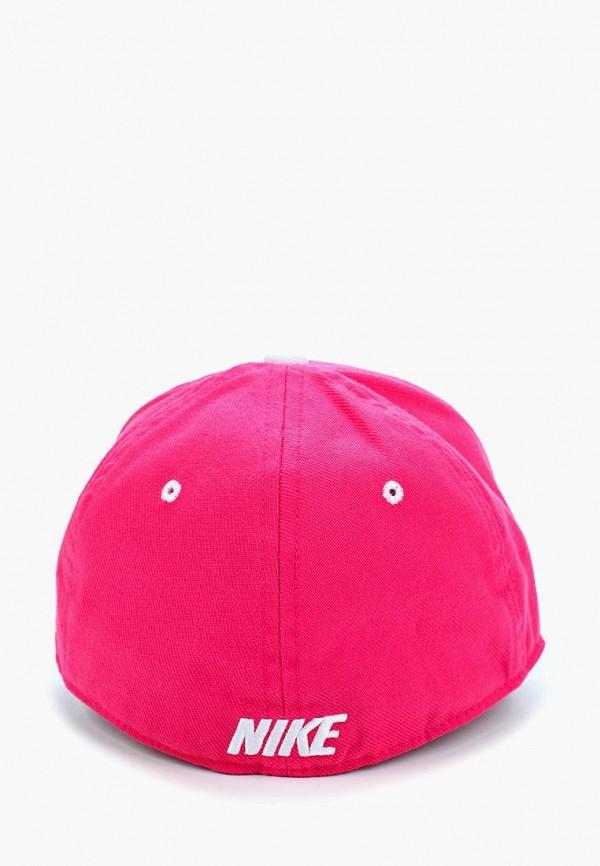 Фото 2 - Бейсболка Nike розового цвета
