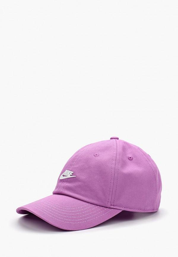 Купить Бейсболка Nike, Y NK H86 CAP SEASONAL, ni464cgbdpn4, фиолетовый, Весна-лето 2018
