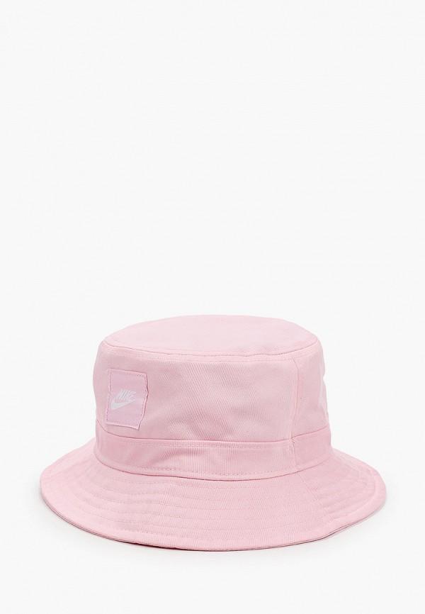 панама nike для девочки, розовая