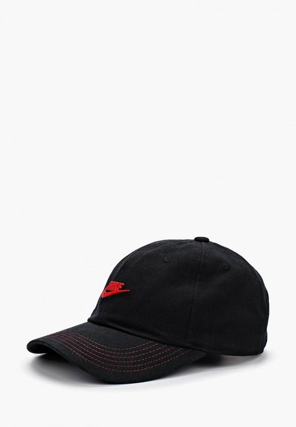 Купить Бейсболка Nike, Y NK H86 CAP SEASONAL, ni464ckbdpn2, черный, Осень-зима 2018/2019