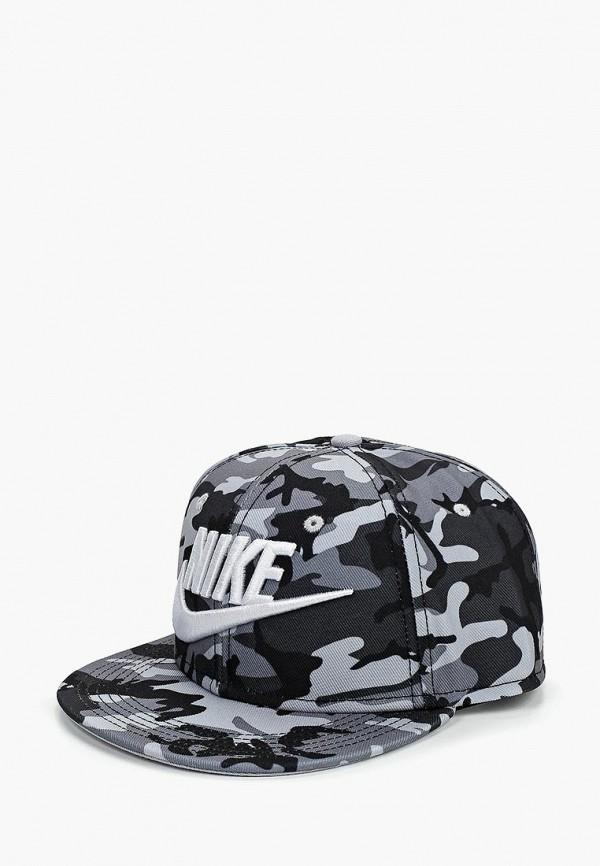 Купить Бейсболка Nike, Nike Futura True Kids' Adjustable Hat, ni464ckbwum2, серый, Осень-зима 2018/2019
