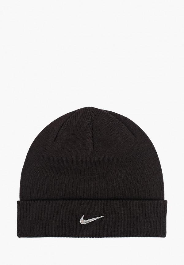 шапка nike малыши, черная