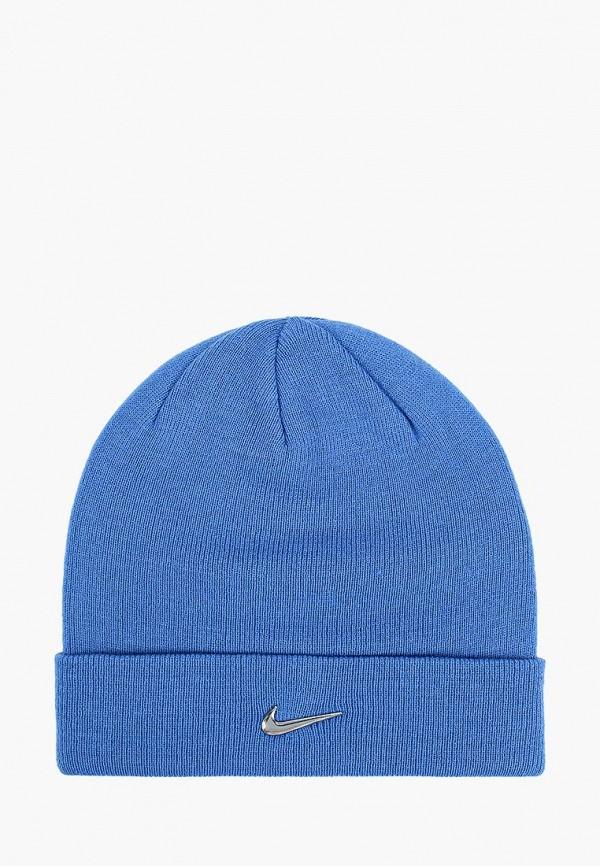шапка nike малыши, голубая