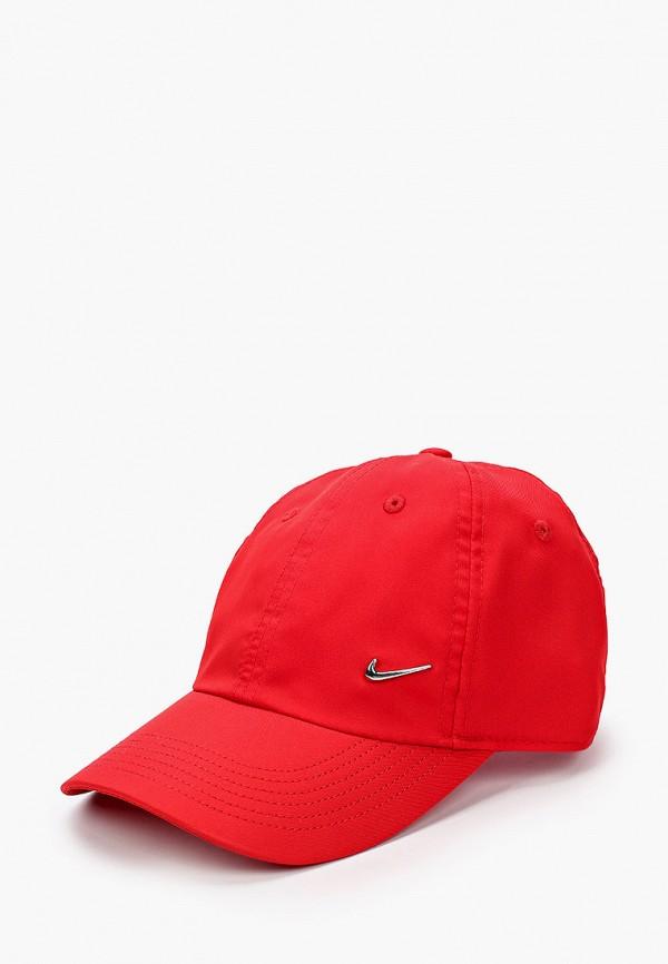 бейсболка nike малыши, красная