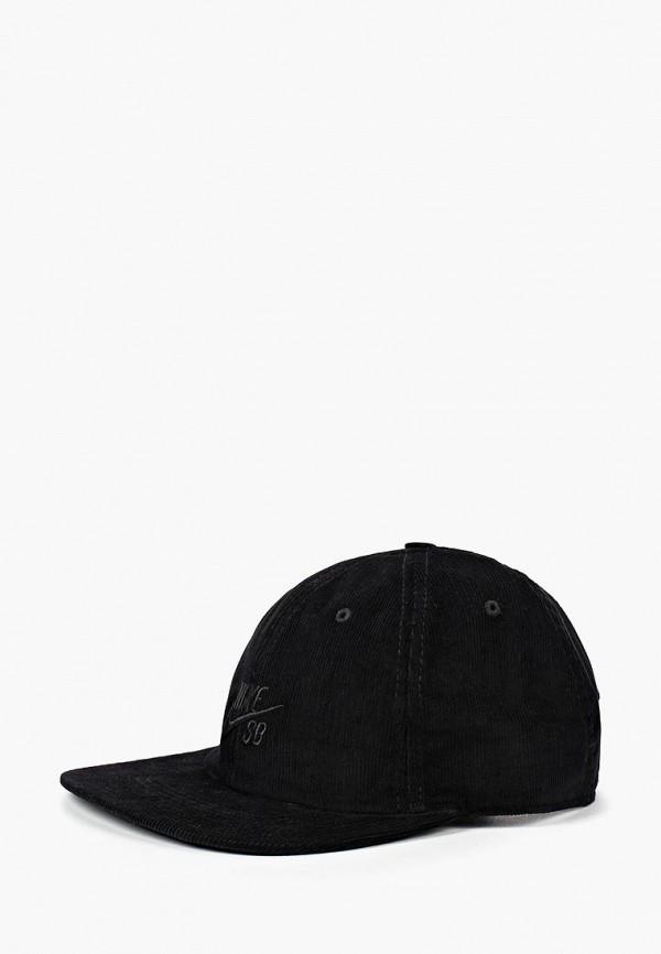 Купить Бейсболка Nike, Nike SB Heritage86 Unisex Flat Bill Hat, NI464CUBWCX5, черный, Осень-зима 2018/2019