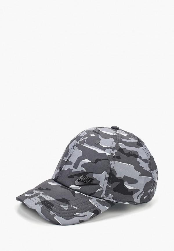 Купить Бейсболка Nike, U NSW AROBILL H86 CAP MT FT TF, ni464cucmee1, серый, Осень-зима 2018/2019